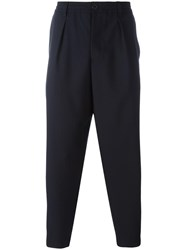 Marni Tapered Trousers Blue