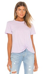 Velvet By Graham And Spencer Pippa Tee In Purple. Sorbet