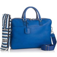 Mark Giusti Double Compartment Laptop Bag Blue
