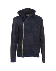 Reign Topwear Sweatshirts Men Dark Blue
