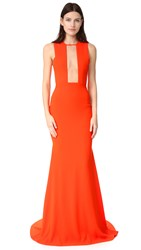 Alex Perry Gown Tangerine