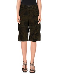 Twin Set Simona Barbieri Bermudas Military Green