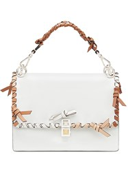 Fendi Kan I Shoulder Bag White