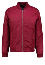 Only And Sons Onsabas Bomber Jacket Sassafras Bordeaux