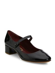 Marc Jacobs Lexi Patent Leather Mary Jane Pumps Black