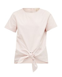 Ted Baker Suki Knot Front Cotton Top Blush