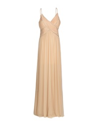 Sooz By Isabel C. Long Dresses Beige