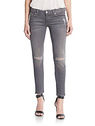 Hudson Krista Destroyed Super Skinny Jeans