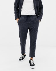 Another Influence Fleck Formal Slim Fit Joggers Navy