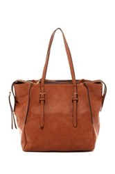 Urban Expressions Ophelia Divide Tote Brown