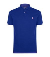 Polo Ralph Lauren Custom Fit Mesh Shirt Male Navy