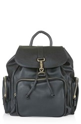 Topshop 'Balham' Zip Pocket Backpack