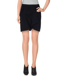 Rick Owens Skirts Mini Skirts Women Black