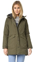 Penfield Kingman Insulated Fishtail Parka Lichen