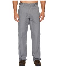 Mountain Khakis Original Pants Relaxed Fit Gunmetal Casual Pants Gray