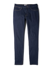 Mango 38353 Slim Fit Stretch Dark Jan Jeans Blue