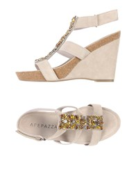 Apepazza Sandals Beige
