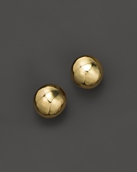 Ippolita Glamazon 18K Gold Hammered Ball Stud Earrings
