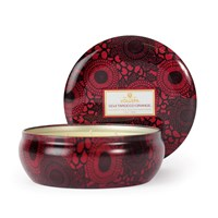 Voluspa Japonica 3 Wick Candle In Tin Goji And Tarroco Orange