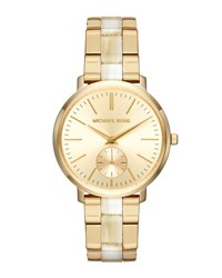 Michael Michael Kors 38Mm Jaryn Chronograph Bracelet Watch Gold