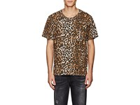 Nsf Leopard Print Cotton T Shirt Multi