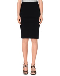 Gentryportofino Skirts Knee Length Skirts Women Black