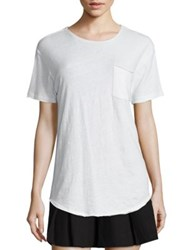 R 13 Solid Short Sleeve T Shirt White