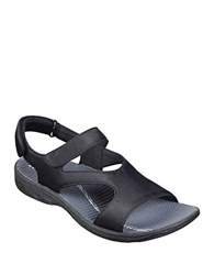 Easy Spirit Yogala Sport Sandals Black