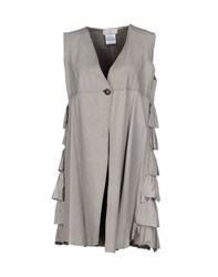 Le Cuir Perdu Coats And Jackets Jackets Women Grey