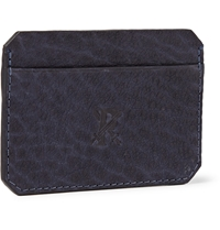 Parabellum Full Grain Leather Cardholder Blue