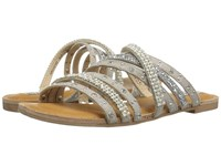 Not Rated Caviar Silver Women's Sandals