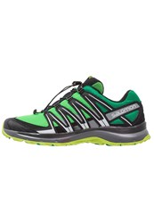 Salomon Xa Lite Trail Running Shoes Classic Green Black Lime Green
