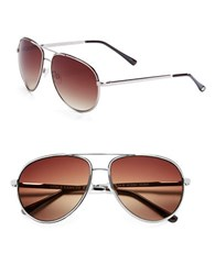 Vince Camuto 63Mm Aviator Sunglasses Gold