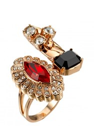 Mawi Crystal Cluster Ring Gold