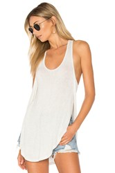 Joah Brown Live In Slouchy Tank Light Gray