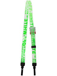 Off White Clear Parcel Tape Pvc Belt Strap Green