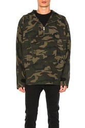 C2h4 Camo Pullover Jacket Army