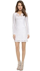 Nanette Lepore Adora Flor Dress White