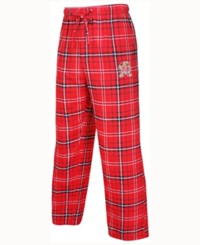 Concepts Sport Men's Maryland Terrapins Ultimate Flannel Sleep Pants Red