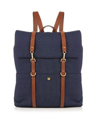 Mismo M S Canvas Backpack Dark Blue