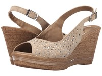 Spring Step Showtime Beige Women's Wedge Shoes
