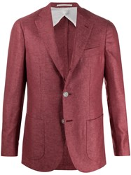 Barba Gimmy Fine Knit Blazer Jacket 60