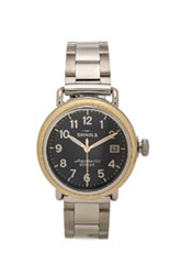 Shinola The Runwell Coin Edge 38Mm In Metallics