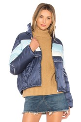 Tularosa Phillips Stripped Puffer Blue