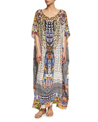 Camilla Embellished Caftan Coverup Maxi Dress Echoes Of Engai Echos Of Engai
