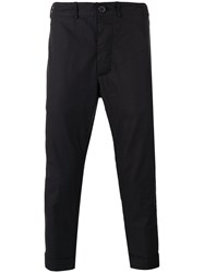 Casey Casey Drop Crotch Trousers Black