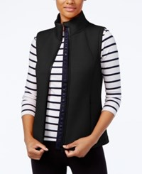 Tommy Hilfiger Mock Neck Vest A Macy's Exclusive Style Black