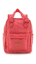 Marc By Marc Jacobs Pretty Nylon Preppy Knapsack Rose Bush
