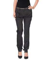 Naf Naf Trousers Casual Trousers Women Steel Grey