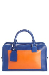 Loewe 'Amazona 28' Colorblock Calfskin Leather Satchel